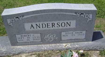 ANDERSON (VETERAN KOR), ROBERT CARROLL - Lawrence County, Arkansas | ROBERT CARROLL ANDERSON (VETERAN KOR) - Arkansas Gravestone Photos