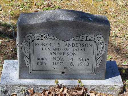 ANDERSON, ROBERT S. - Lawrence County, Arkansas | ROBERT S. ANDERSON - Arkansas Gravestone Photos