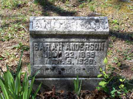 ANDERSON, SARAH G. - Lawrence County, Arkansas | SARAH G. ANDERSON - Arkansas Gravestone Photos