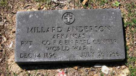 ANDERSON (VETERAN WWI), MILLARD - Lawrence County, Arkansas | MILLARD ANDERSON (VETERAN WWI) - Arkansas Gravestone Photos