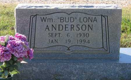 "ANDERSON, WILLIAM LONA ""BUD"" - Lawrence County, Arkansas 
