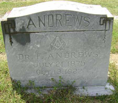 ANDREWS, MD, FERD - Lawrence County, Arkansas | FERD ANDREWS, MD - Arkansas Gravestone Photos