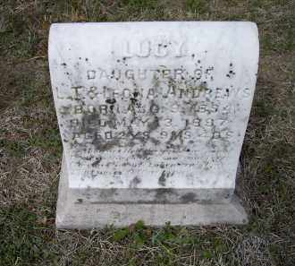 ANDREWS, LUCY - Lawrence County, Arkansas | LUCY ANDREWS - Arkansas Gravestone Photos