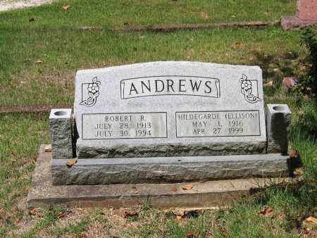 ELLISON ANDREWS, HILDEGARDE PENNY - Lawrence County, Arkansas | HILDEGARDE PENNY ELLISON ANDREWS - Arkansas Gravestone Photos