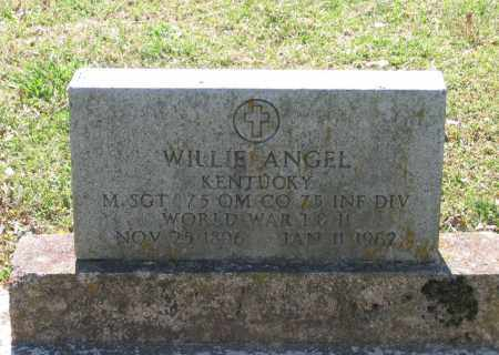 ANGEL (VETERAN 2 WARS), WILLIE - Lawrence County, Arkansas | WILLIE ANGEL (VETERAN 2 WARS) - Arkansas Gravestone Photos