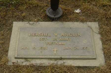 ANGLIN  (VETERAN VIET), HERSHEL W - Lawrence County, Arkansas | HERSHEL W ANGLIN  (VETERAN VIET) - Arkansas Gravestone Photos