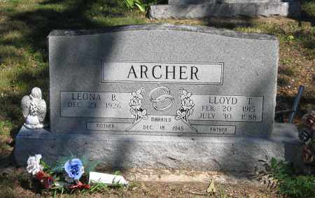 ARCHER, LLOYD T. - Lawrence County, Arkansas | LLOYD T. ARCHER - Arkansas Gravestone Photos
