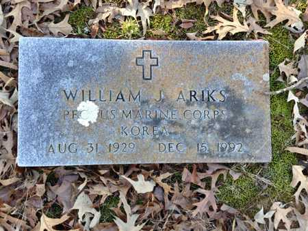 ARIKS (VETERAN KOR), WILLIAM J. - Lawrence County, Arkansas | WILLIAM J. ARIKS (VETERAN KOR) - Arkansas Gravestone Photos
