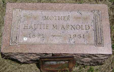 ARNOLD, HAUTIE M. - Lawrence County, Arkansas | HAUTIE M. ARNOLD - Arkansas Gravestone Photos