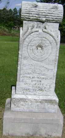 ARNOLD, JOHN M - Lawrence County, Arkansas | JOHN M ARNOLD - Arkansas Gravestone Photos