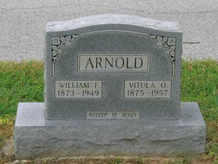 COLE ARNOLD, VITULA OPHELIA - Lawrence County, Arkansas | VITULA OPHELIA COLE ARNOLD - Arkansas Gravestone Photos