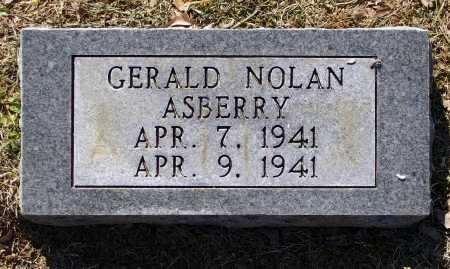 ASBERRY, GERALD NOLAN - Lawrence County, Arkansas   GERALD NOLAN ASBERRY - Arkansas Gravestone Photos