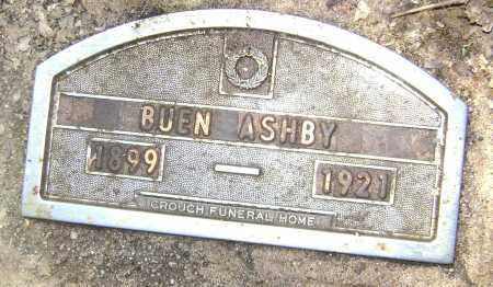 ASHBY, ERNEST BUEN - Lawrence County, Arkansas | ERNEST BUEN ASHBY - Arkansas Gravestone Photos