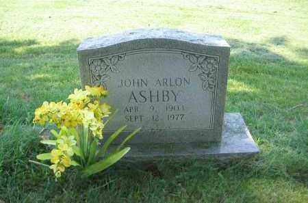 ASHBY, JOHN ARLON - Lawrence County, Arkansas | JOHN ARLON ASHBY - Arkansas Gravestone Photos