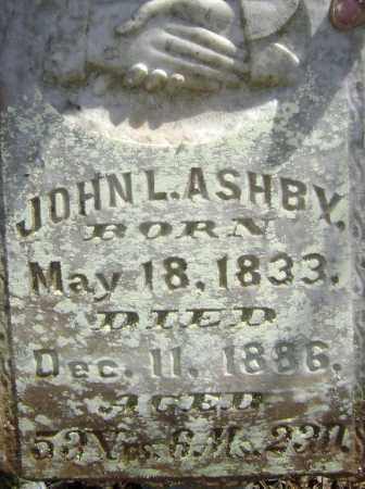ASHBY, JOHN L. - Lawrence County, Arkansas | JOHN L. ASHBY - Arkansas Gravestone Photos