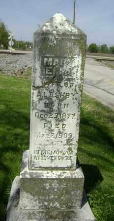 ASHBY, MARY ELLA - Lawrence County, Arkansas   MARY ELLA ASHBY - Arkansas Gravestone Photos