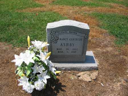 ASHBY, NANCY GERTRUDE - Lawrence County, Arkansas | NANCY GERTRUDE ASHBY - Arkansas Gravestone Photos