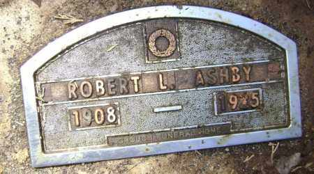 ASHBY, ROBERT L. - Lawrence County, Arkansas | ROBERT L. ASHBY - Arkansas Gravestone Photos