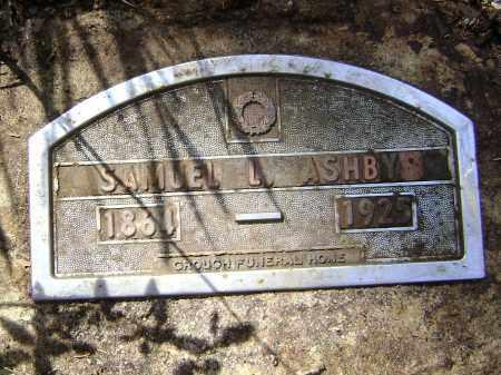 ASHBY, SAMUEL L. - Lawrence County, Arkansas | SAMUEL L. ASHBY - Arkansas Gravestone Photos