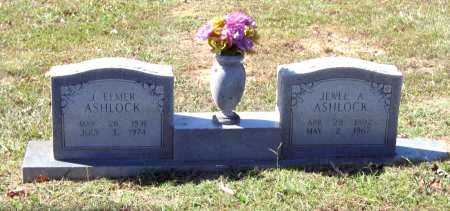 ASHLOCK, JULIUS ELMER - Lawrence County, Arkansas | JULIUS ELMER ASHLOCK - Arkansas Gravestone Photos