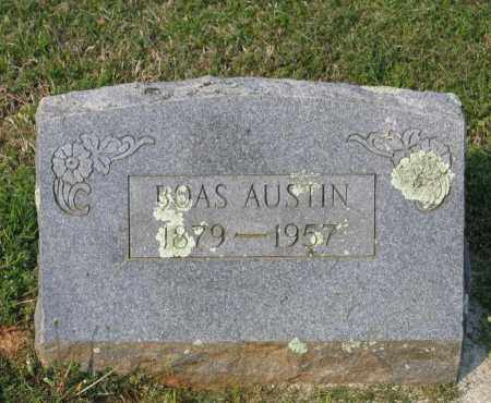 AUSTIN, ZACKERY BOAS - Lawrence County, Arkansas | ZACKERY BOAS AUSTIN - Arkansas Gravestone Photos
