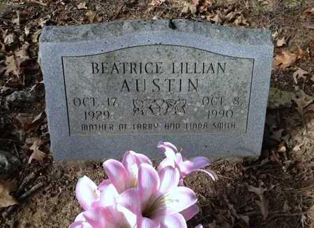 AUSTIN, BEATRICE LILLIAN RICHMOND SMITH - Lawrence County, Arkansas | BEATRICE LILLIAN RICHMOND SMITH AUSTIN - Arkansas Gravestone Photos