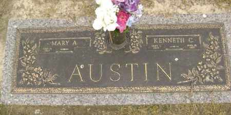 AUSTIN, KENNETH CALVIN - Lawrence County, Arkansas | KENNETH CALVIN AUSTIN - Arkansas Gravestone Photos