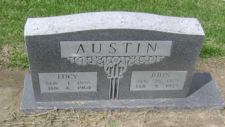 AUSTIN, LUCY - Lawrence County, Arkansas | LUCY AUSTIN - Arkansas Gravestone Photos