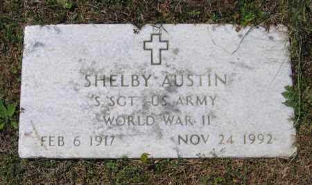 AUSTIN (VETERAN WWII), SHELBY - Lawrence County, Arkansas | SHELBY AUSTIN (VETERAN WWII) - Arkansas Gravestone Photos