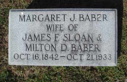 BABER, MARGARET JUNE RANEY SLOAN - Lawrence County, Arkansas | MARGARET JUNE RANEY SLOAN BABER - Arkansas Gravestone Photos