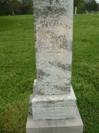BAGLEY, JOHN A. - Lawrence County, Arkansas | JOHN A. BAGLEY - Arkansas Gravestone Photos