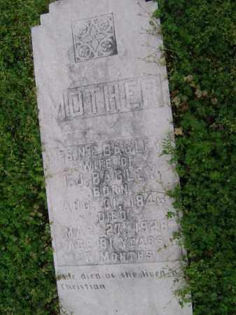 """BAGLEY, NANCY E. """"N. E."""" - Lawrence County, Arkansas   NANCY E. """"N. E."""" BAGLEY - Arkansas Gravestone Photos"""
