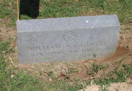 BAGWELL (VETERAN WWII), WILLIAM ALFRED - Lawrence County, Arkansas | WILLIAM ALFRED BAGWELL (VETERAN WWII) - Arkansas Gravestone Photos