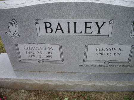 BAILEY, CHARLES - Lawrence County, Arkansas | CHARLES BAILEY - Arkansas Gravestone Photos