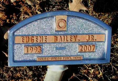 BAILEY, JR., EUGENE - Lawrence County, Arkansas   EUGENE BAILEY, JR. - Arkansas Gravestone Photos