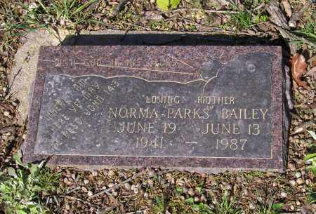 BAILEY, NORMA PARKS - Lawrence County, Arkansas | NORMA PARKS BAILEY - Arkansas Gravestone Photos