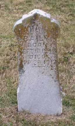 BAILY, SARAH A. - Lawrence County, Arkansas   SARAH A. BAILY - Arkansas Gravestone Photos