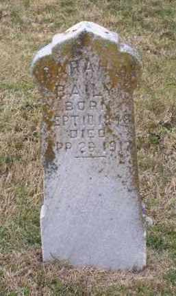 BAILY, SARAH A. - Lawrence County, Arkansas | SARAH A. BAILY - Arkansas Gravestone Photos