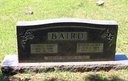BAIRD, ETHEL JANE - Lawrence County, Arkansas | ETHEL JANE BAIRD - Arkansas Gravestone Photos