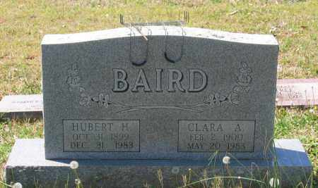 BAIRD, HUBERT H. - Lawrence County, Arkansas | HUBERT H. BAIRD - Arkansas Gravestone Photos