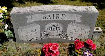 BAIRD, LOTTIE L. - Lawrence County, Arkansas | LOTTIE L. BAIRD - Arkansas Gravestone Photos