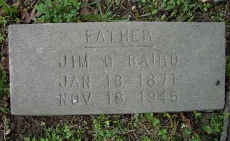 BAIRD, JIM G. - Lawrence County, Arkansas | JIM G. BAIRD - Arkansas Gravestone Photos