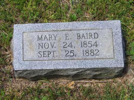 BAIRD, MARY E. - Lawrence County, Arkansas | MARY E. BAIRD - Arkansas Gravestone Photos