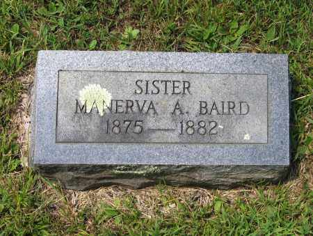 BAIRD, MANERVA A. - Lawrence County, Arkansas | MANERVA A. BAIRD - Arkansas Gravestone Photos
