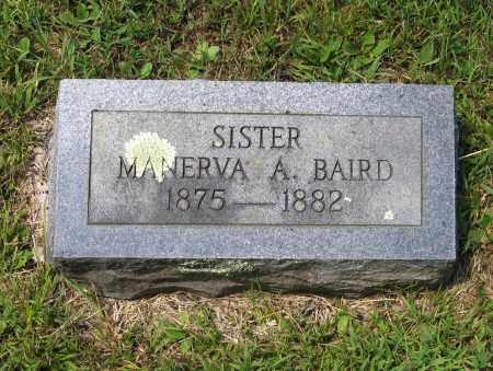 BAIRD, MANERVA ADALINE - Lawrence County, Arkansas | MANERVA ADALINE BAIRD - Arkansas Gravestone Photos