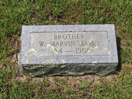 BAIRD, W. MARVIN - Lawrence County, Arkansas   W. MARVIN BAIRD - Arkansas Gravestone Photos