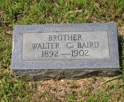 BAIRD, WALTER C. - Lawrence County, Arkansas | WALTER C. BAIRD - Arkansas Gravestone Photos