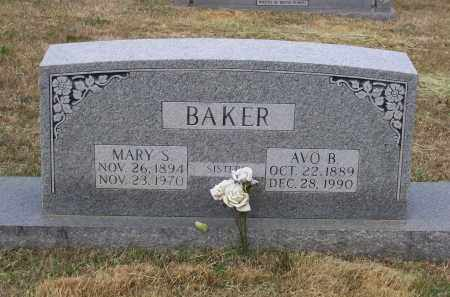 BAKER, MARY STEADMAN - Lawrence County, Arkansas | MARY STEADMAN BAKER - Arkansas Gravestone Photos
