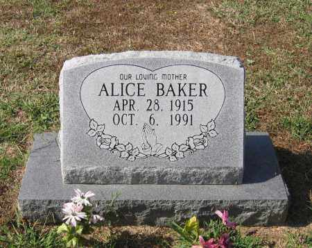 RANEY BAKER, ALICE - Lawrence County, Arkansas | ALICE RANEY BAKER - Arkansas Gravestone Photos