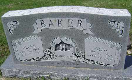 """BAKER, CHARLES WILLIAM """"WILLIE"""" - Lawrence County, Arkansas 